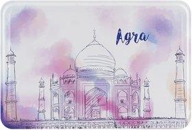 Happipress Agra Darshan Metal Postcard
