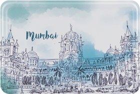 Happipress Mumbai Darshan Metal Postcard