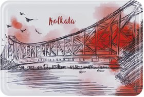 Happipress Kolkata Darshan Metal Postcard