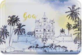 Happipress Goa Darshan Metal Postcard