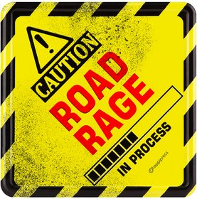Happipress The Road Rager Car Sign
