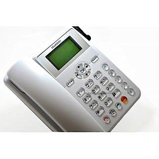 UVAA CORDLESS Landline Phone (White)
