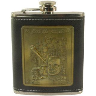 7oz 210ml Stainless Steel Pocket Hip Flask Bottle Liquor Drink Ware -12