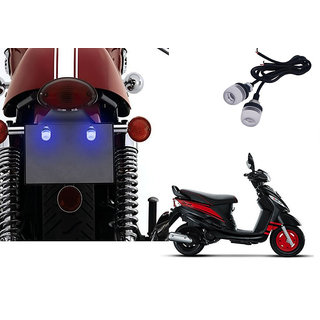 Autonity Bike LED Number/Licence Plate Blue Lights Set Of 2 for Mahindra  Rodeo