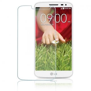 Kartik Crystal Clear Full Screen Coverage Tempered Glass For G2