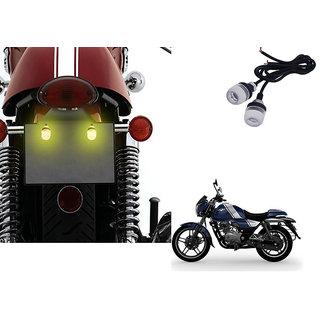 Autonity Bike LED Number/Licence Plate Yellow  Lights Set Of 2 for Bajaj V12