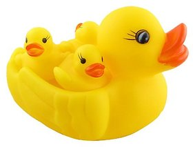 smiles creation Ducky Baby Bathing Squeeze Toy For Kids