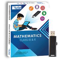 Letstute Math Class IX And X Combo Pack (CBSE) (Pen Dri