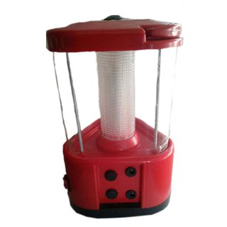 Solar Lantern With Panel Adopter MultiPle Charger Etc.