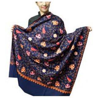 Aari Zaal Full Work (Kashmiri) Woolean Shawl Branded Quality