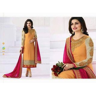 Partywear Heavy Embroidery Suit (Unstitched)