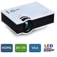 UNIC UC40 LED Projector LED LCD 3D Projectors AV USB SD
