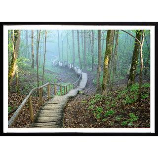 Beautiful nature scenery poster