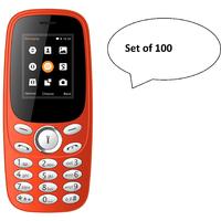 SET Of 100, IKall K130 (Dual Sim, 1.8 Inch Display, 800