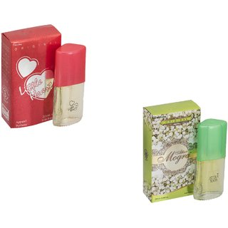 Skyedventures Set of 2 Little Heart 20ml-Attar Mogra 20ml Perfume