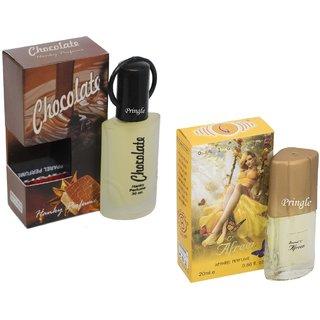 Skyedventures Set of 2 Chocolate 30ml- Afreen 20ml Perfume