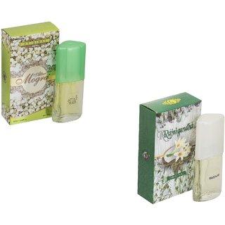 Skyedventures Set of 2 Attar Mogra20ml-Rajnigandha 20ml Perfume