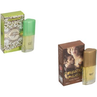Skyedventures Set of 2 Attar Mogra 20ml-Romantic moment 20ml Perfume