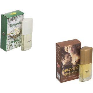 Skyedventures Set of 2 Rajnigandha 20ml-Romantic moment 20ml Perfume