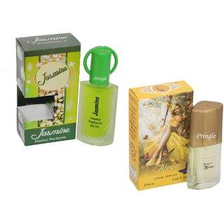 Skyedventures Set of 2 Jasmine 30ml-Afreen 20ml Perfume