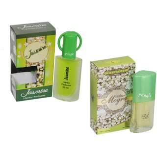 Skyedventures Set of 2 Jasmine 30ml-Attar mogra 20ml Perfume