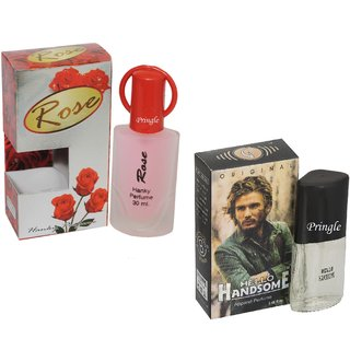 Skyedventures Set of 2 Rose 30ml-hello handsome 20ml Perfume