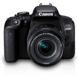 Canon EOS 800D DSLR Camera Body with Single Lens: EF S18-55 IS STM (16 GB SD Card + Camera Bag)(Black)