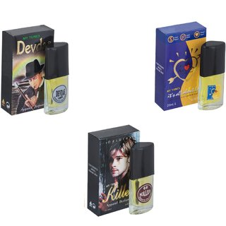 Skyedventures Set of 3   Devdas-ILU-Killer Perfume