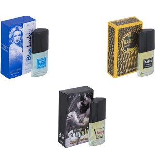Skyedventures Set of 3  Skyedventures Set of 3   Blue Lady-Kabra Yellow-Romantic Perfume