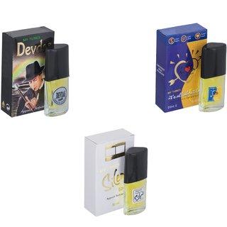 Skyedventures Set of 3   Devdas-ILU-Silent Love Perfume