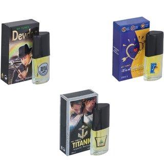 Skyedventures Set of 3   Devdas-ILU-Titanic Perfume