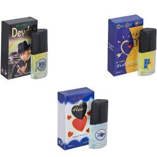 Skyedventures Set of 3   Devdas-ILU-Younge Heart Blue Perfume