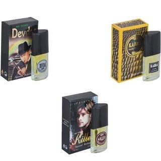 Skyedventures Set of 3   Devdas-Kabra Yellow-Killer Perfume