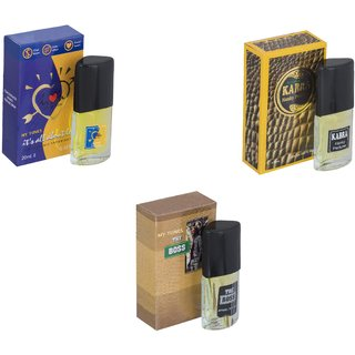 Skyedventures Set of 3    ILU-Kabra Yellow-The Boss Perfume