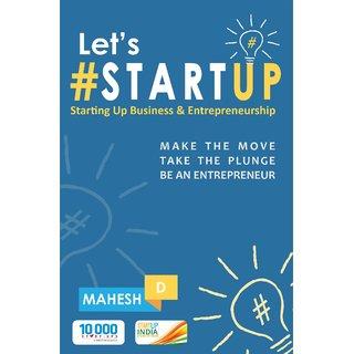 Let's Startup Starting Up Business  Entrepreneurship