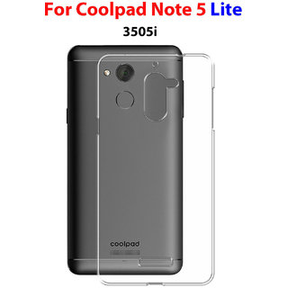 Coolpad Note 5 Lite ( 3505i ) Soft Silicon High Quality Ultra-thin  Transparent Back Cover