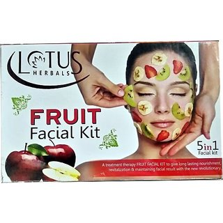 Lotus Herbals Fruit Facial Kit