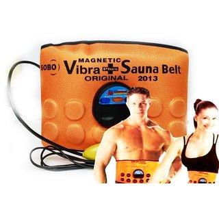 Sauna Slim Belt Vibrating Heating Slimming Tummy Waist Shaper
