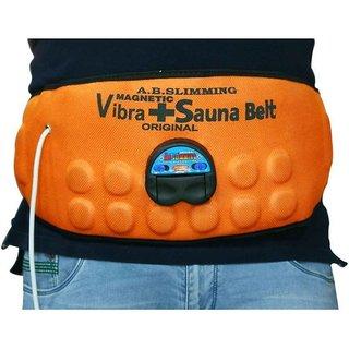 Magnetic Vibrating Heating Massager Slimming Tummy Waist Reduce your Extra Fat Shaper Sauna Belt