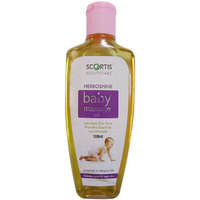 SCORTIS--HERBOSHINE BABY MASSAGE OIL--100ML