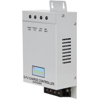 KIN-TECH 24V/20A PWM SOLAR CHARGE CONTROLLER