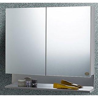 BRANCO Double Door Stainless Steel multipurpose Bathroom Cabinet - BRC-758-SS