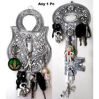 Wall mounted Key Stand/Holder - Key or Lock Design