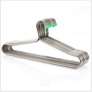 Silver Steel 10 Piece Hanger - Quality Product