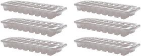 White Ice Trays Set of 6