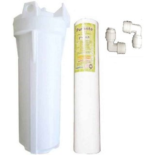 Xisom RO systems service kit pp spun filter and bowl set for water purifier
