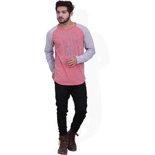 Kifayat Bazaar Full Sleves T Shirt Pink Cotton