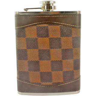 240ml 8oz Pocket Hip Flask Stainless Steel Bottle Liquor Drink Ware -23
