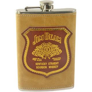 8oz 240ML Stainless Steel Pocket Hip Flask Bottle Liquor Drink Ware -23