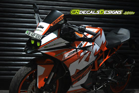 KTM RC Custom Decals FULL BODY Race Kit (RC 200/390/125)